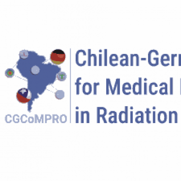 Logo des Chilean-German Consortium for Medical Physics in Radiation Oncology